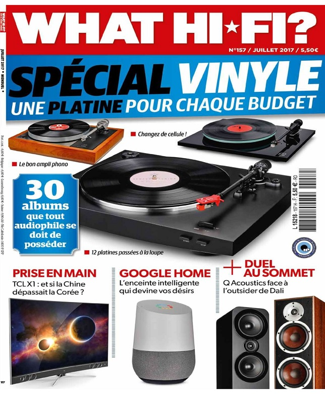 What Hi-Fi N°157 - Juillet 2017