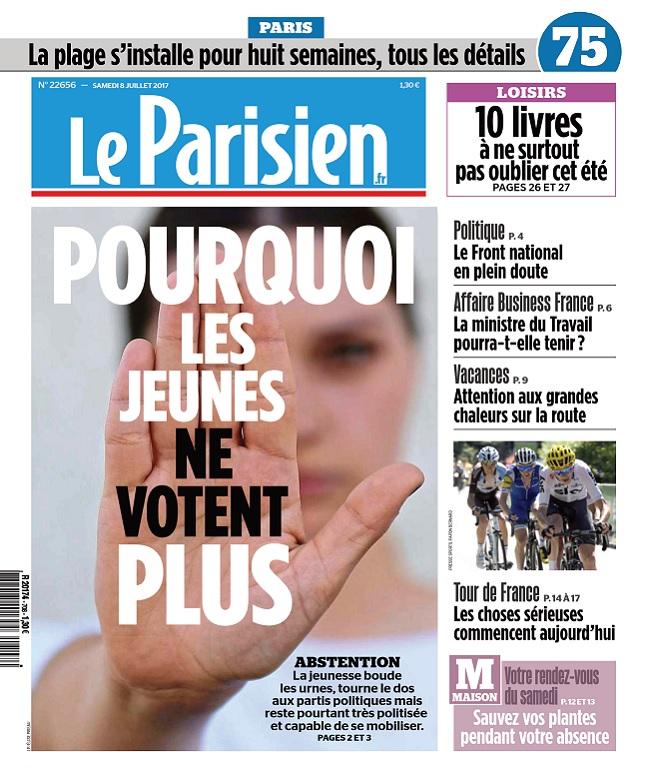 télécharger Le Parisien + Journal De Paris Du Samedi 8 Juillet 2017