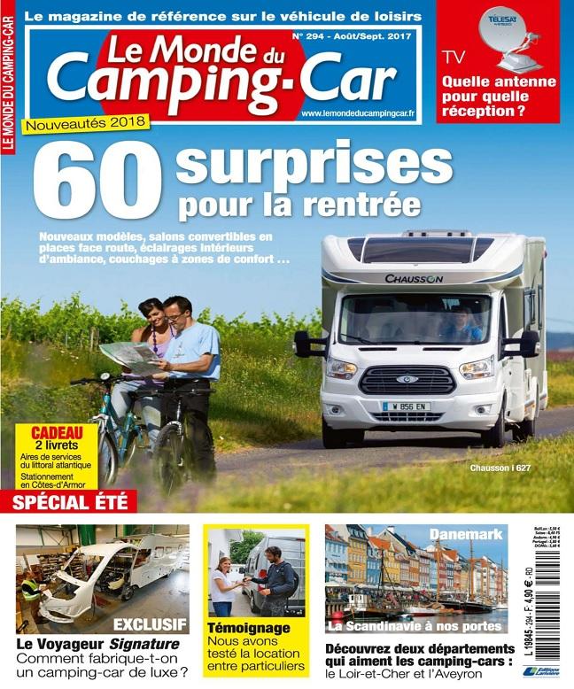 télécharger Le Monde Du Camping-Car N°294 - Août-Septembre 2017