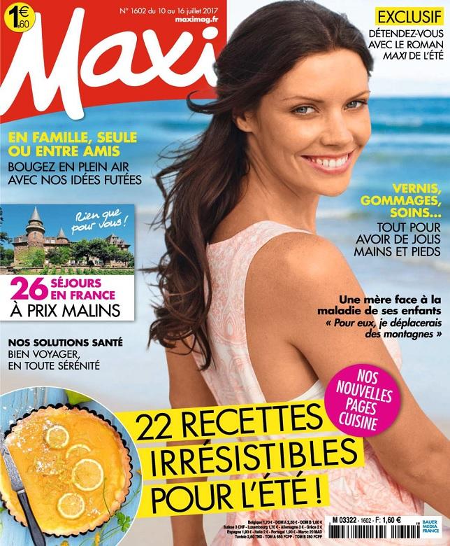 télécharger Maxi N°1602 Du 10 au 16 Juillet 2017
