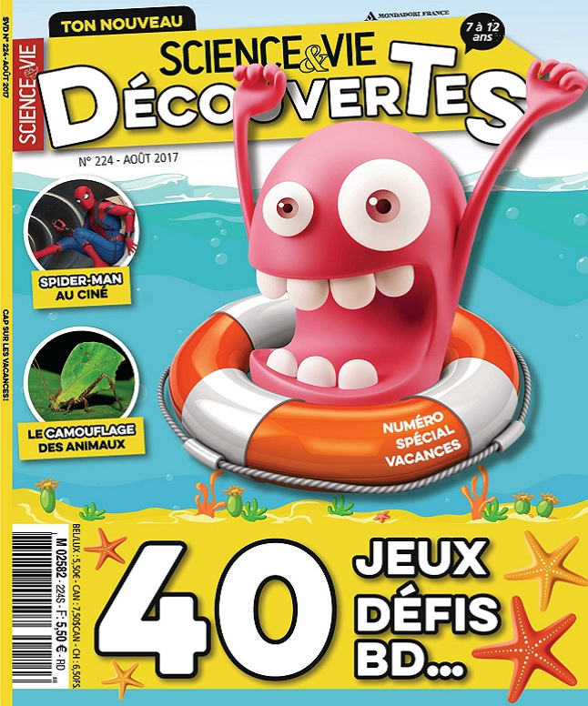 Science et Vie Découvertes N°224 - Août 2017
