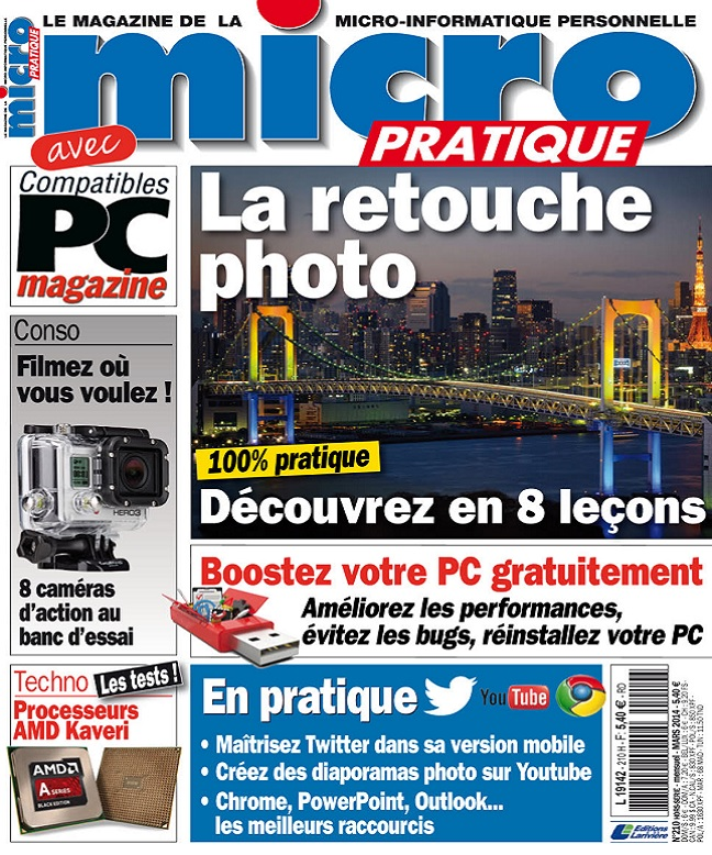 télécharger Micro Pratique N°210 - La Retouche Photo