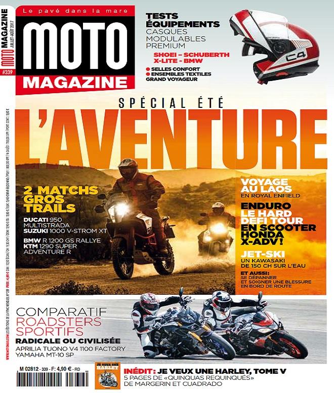 télécharger Moto Magazine N°339 - Juillet-Août 2017