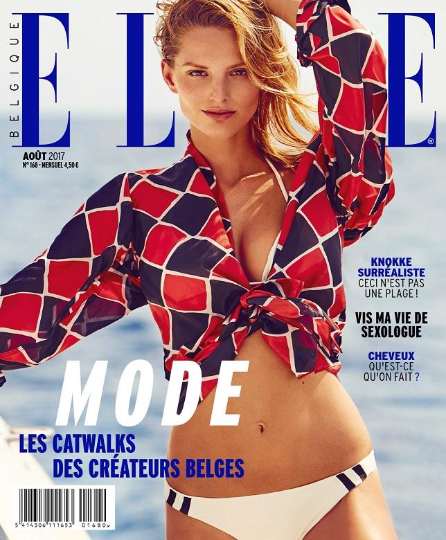 télécharger Elle Belgique N°168 - Aout 2017