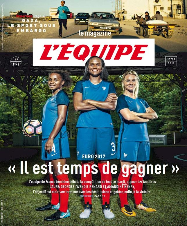 télécharger L'Equipe Magazine N°1826 Du 15 Juillet 2017