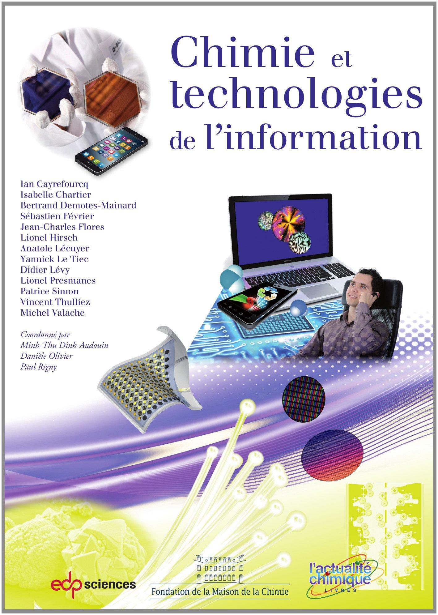 télécharger CHIMIE ET TECHNOLOGIES DE L'INFORMATION