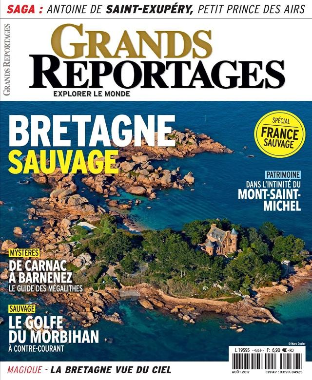 télécharger Grands Reportages N°436 - Août 2017
