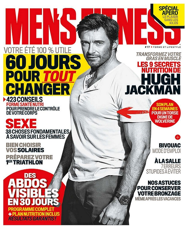 Men's Fitness N°17 - Aout 2017