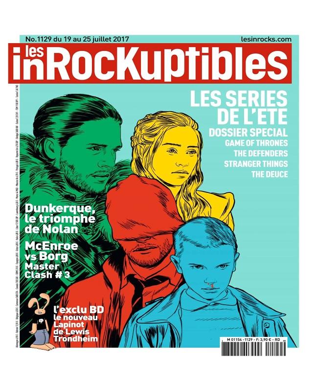 télécharger Les Inrockuptibles N°1129 Du 19 au 25 Juillet 2017