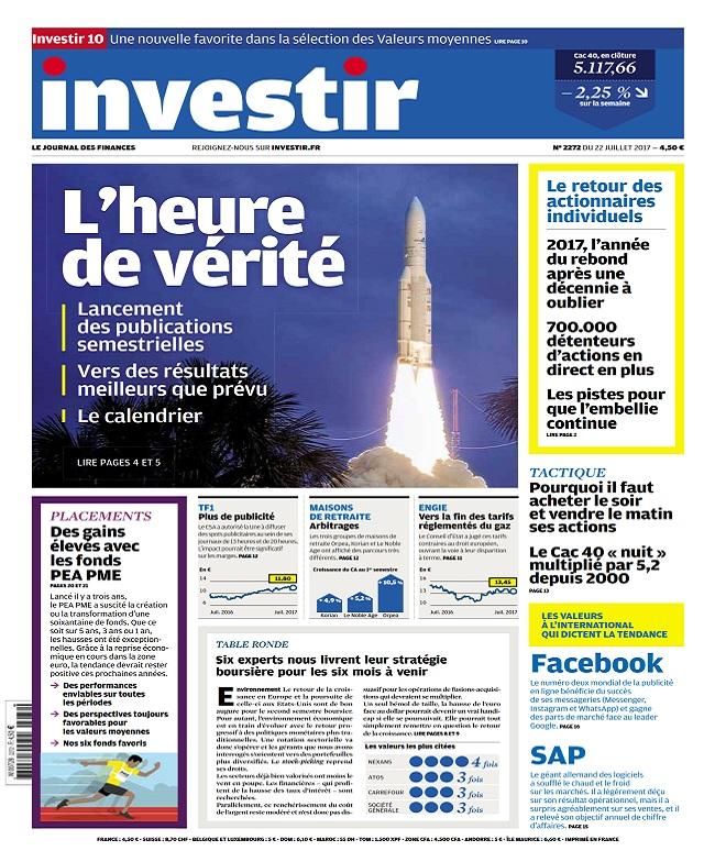 télécharger Investir N°2272 Du 22 Juillet 2017