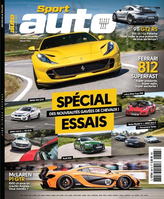télécharger Sport Auto N°667 - Août 2017
