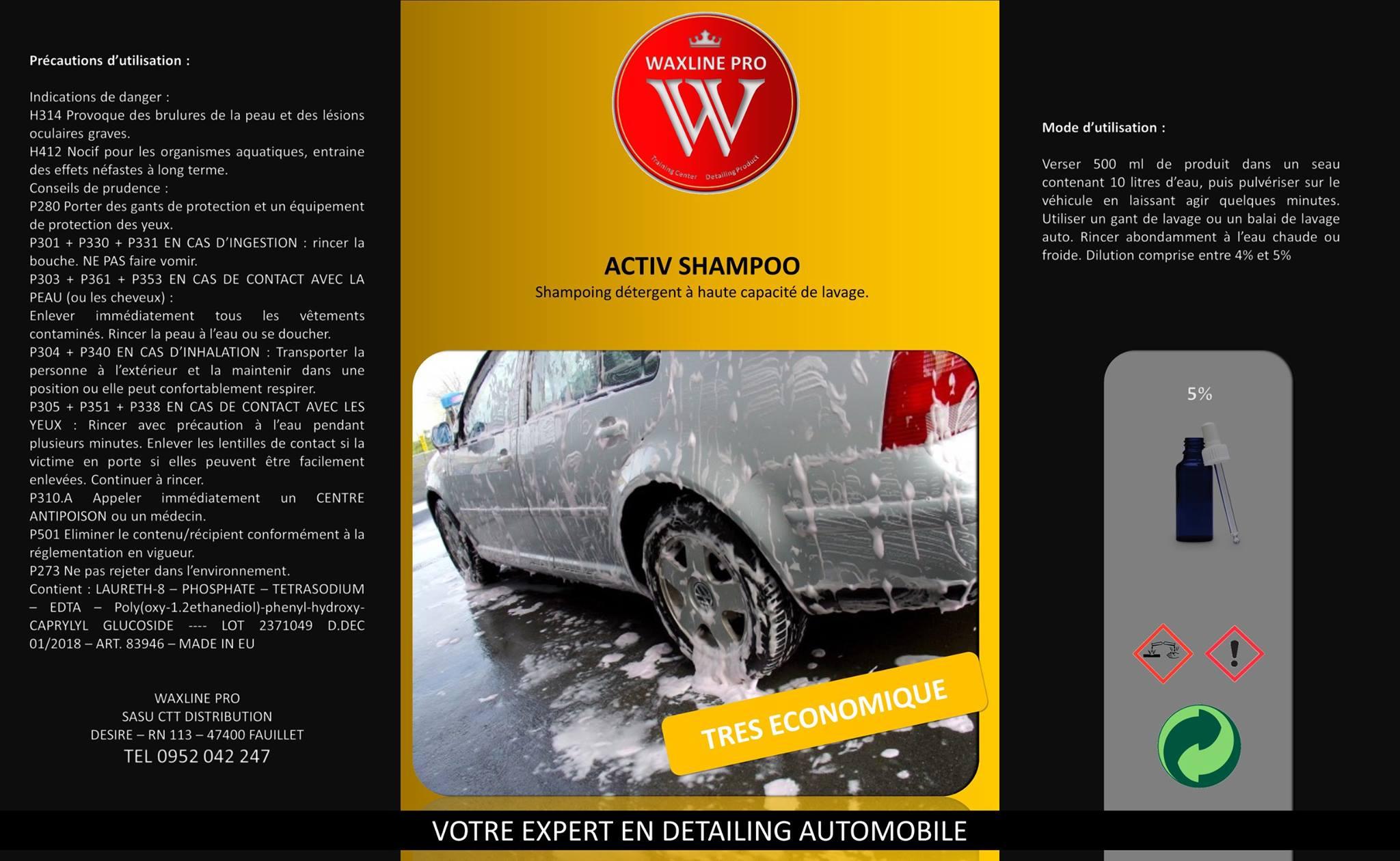 activ shampoo