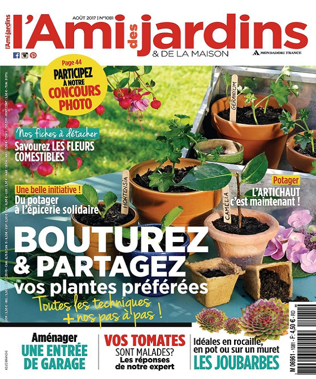 Magazine maison et jardin maison u jardin october with for Magazine maison jardin
