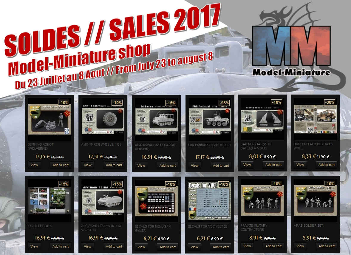 soldes 2017 maquette models 1.72 scale scales maquette military models militaire