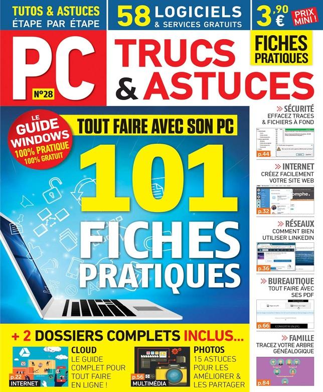 télécharger PC Trucs et Astuces N°28 - Août-Octobre 2017