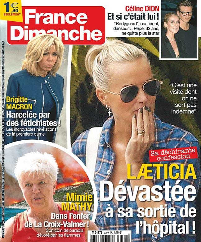 télécharger France Dimanche N°3700 Du 28 Juillet au 3 Août 2017