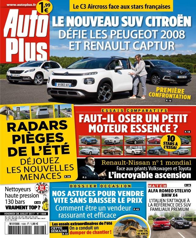 télécharger Auto Plus N°1508 Du 28 Juillet 2017