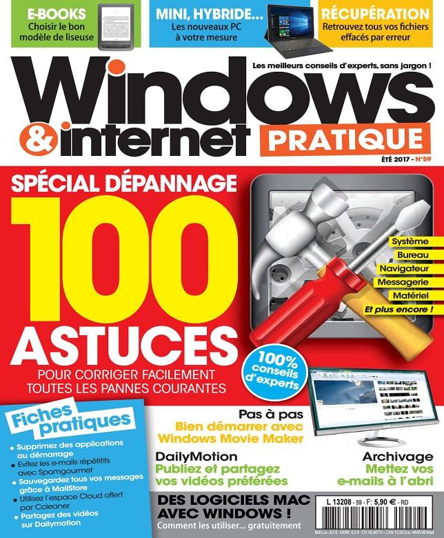 télécharger Windows et Internet Pratique N°59 - Été 2017