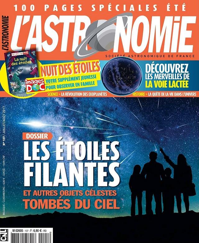 L'Astronomie N°107 - Juillet-Août 2017