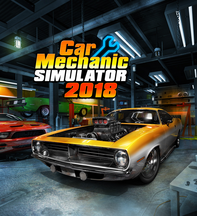 Poster for Car Mechanic Simulator 2018
