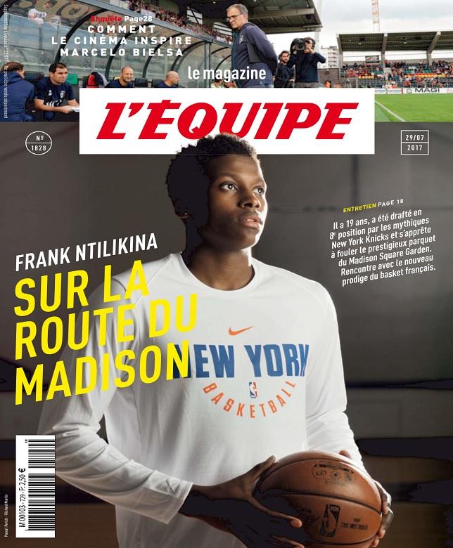 télécharger L'Equipe Magazine N°1828 Du 29 Juillet 2017