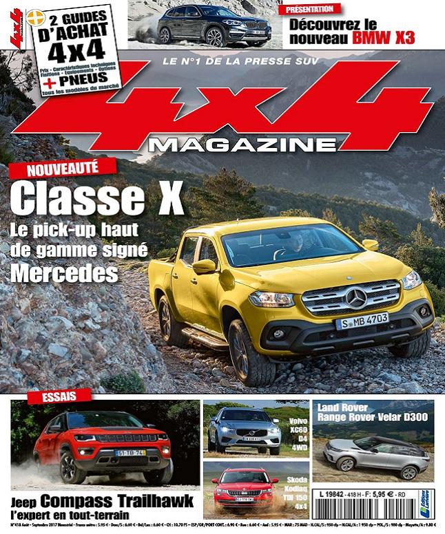 télécharger 4x4 Magazine N°418 - Août-Septembre 2017