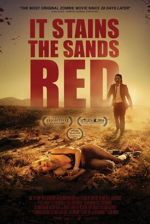 Krew na piasku / It Stains the Sands Red (2016) PL.720p.BluRay.x264-KiT / Lektor PL