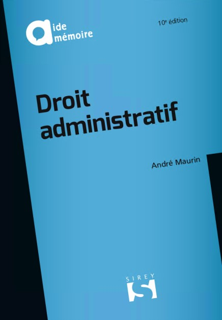 DROIT ADMINISTRATIF - 10ÈME ÉDITION