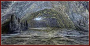 Grotte scellée