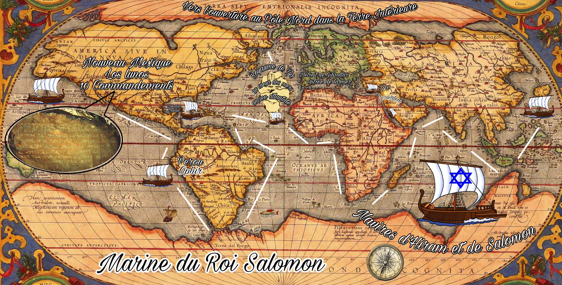 Les navires du Roi Salomon-Atlantide et Tyr-Ophir et Perou 170801034928936856