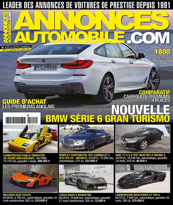 télécharger Annonces Automobile.com N°293 - Aout 2017