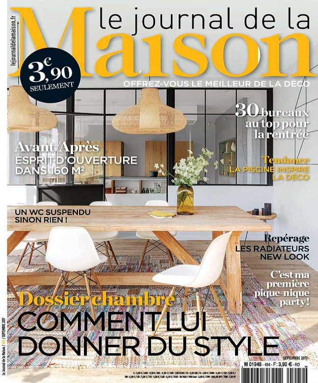 Le Journal De La Maison N°494 - Septembre 2017