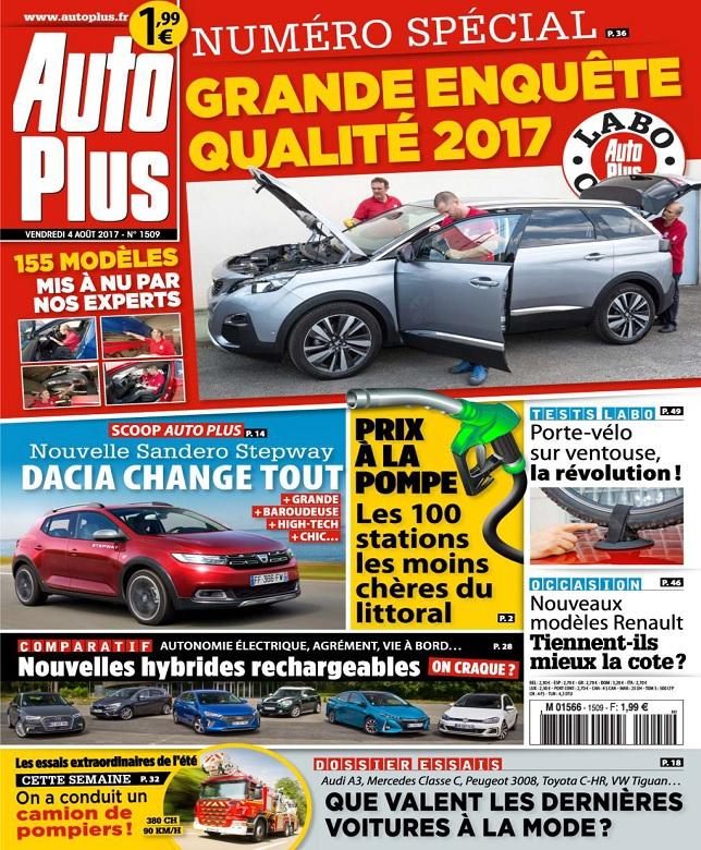 télécharger Auto Plus N°1509 Du 4 Août 2017
