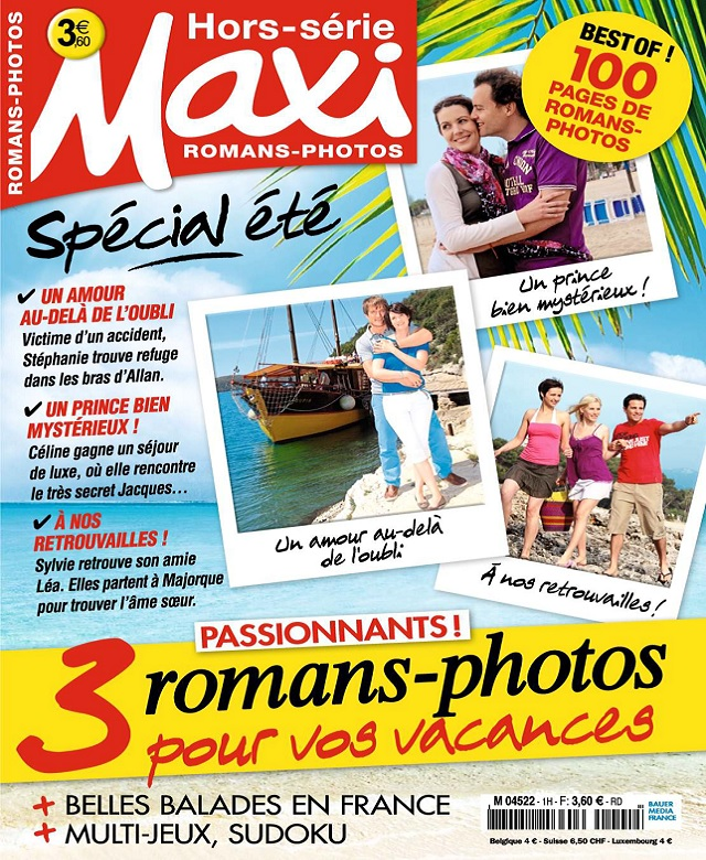 télécharger Maxi Hors Série Romans-Photos N°1 - Été 2017