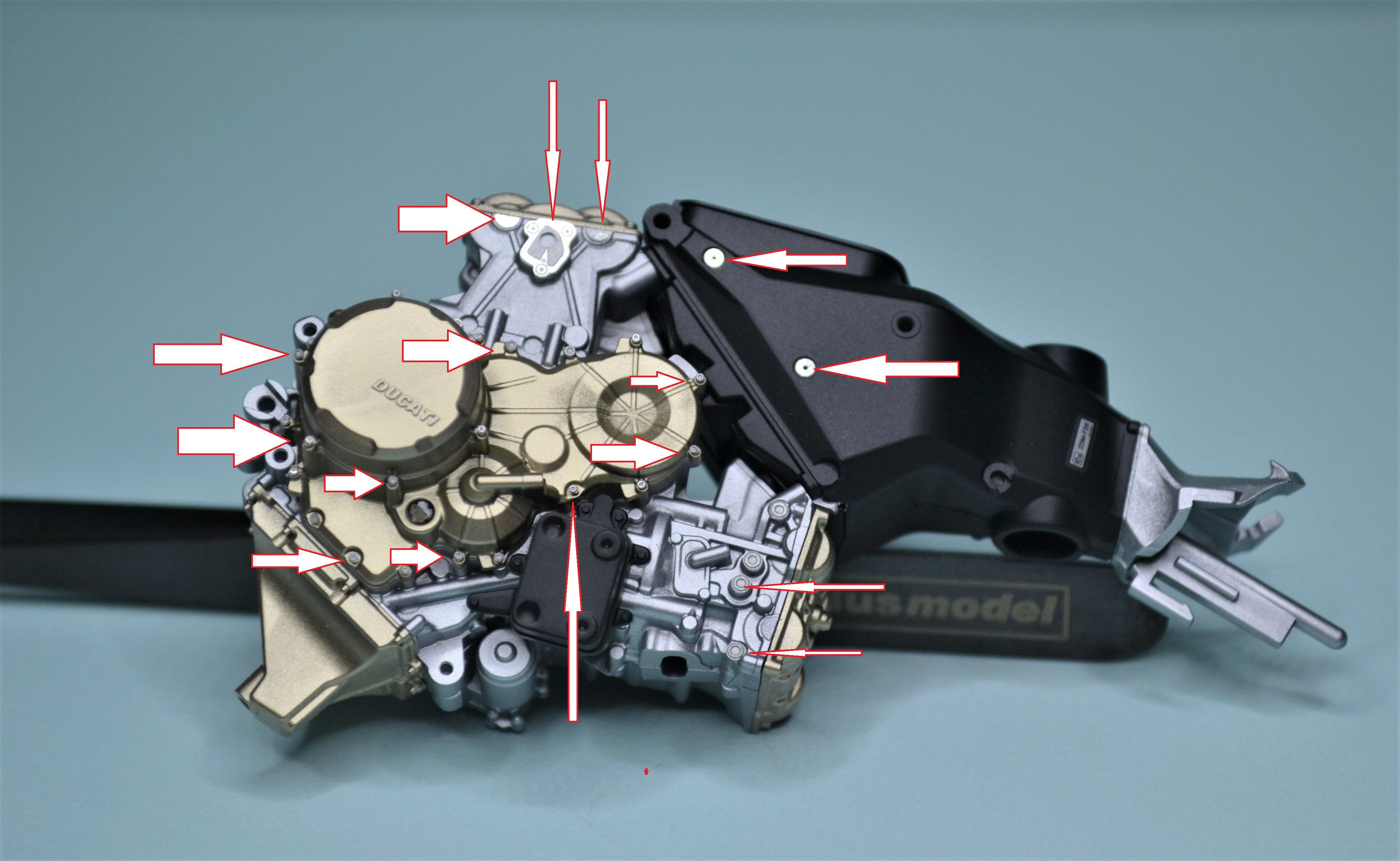 Ducati Panigale 1/12 Tamiya 17080408520063562