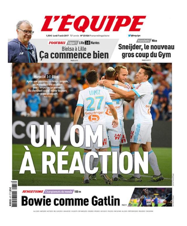 télécharger L'Equipe Du Lundi 7 Août 2017