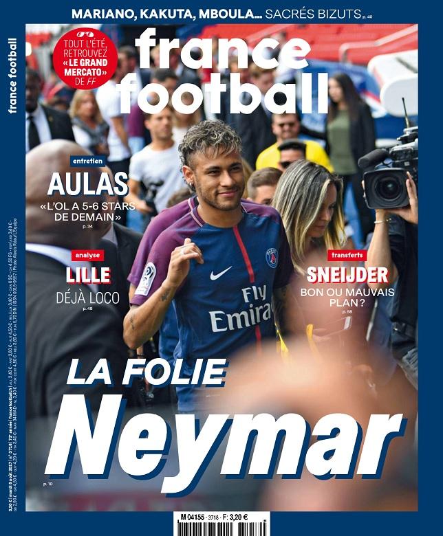 France Football N°3718 Du 8 Août 2017