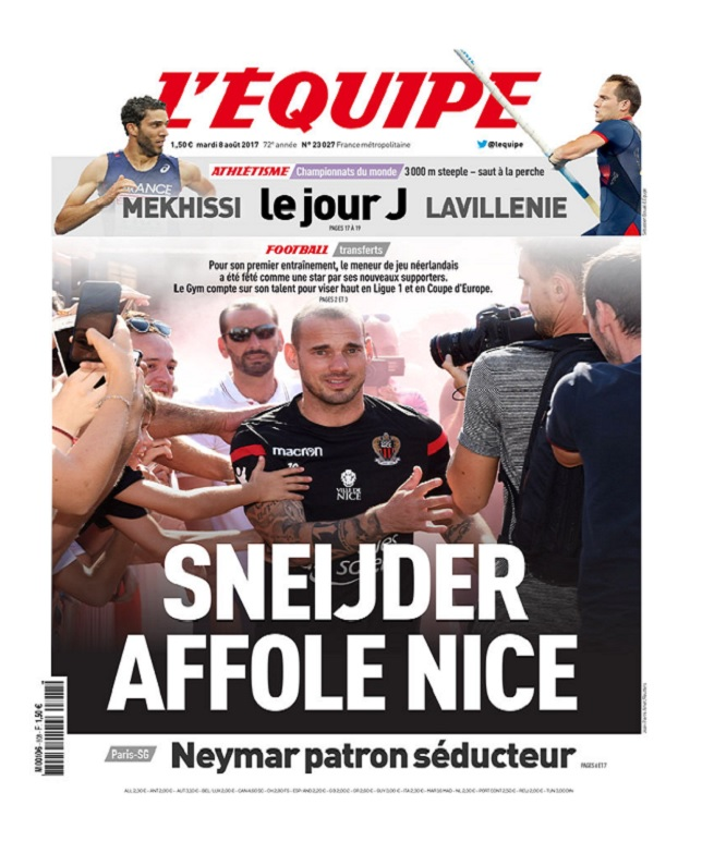 télécharger L'Equipe Du Mardi 8 Août 2017