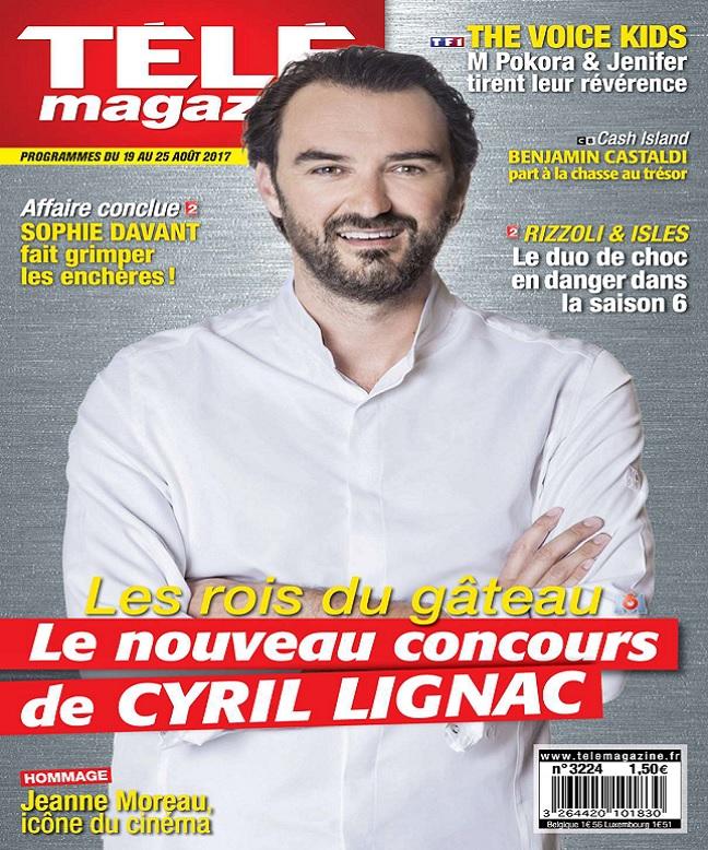Télémagazine N°3224 Du 19 au 25 Août 2017
