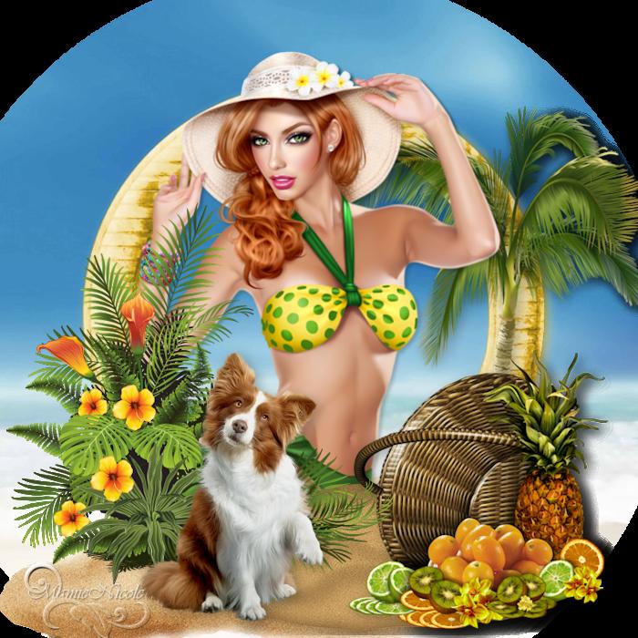 Beach-dream(scrap) 170808120433752320