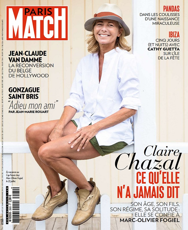 Paris Match N°3560 Du 10 au 16 Août 2017