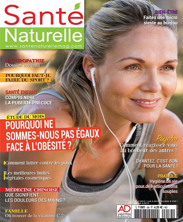 Santé Naturelle N°59 - Septembre-Octobre 2017