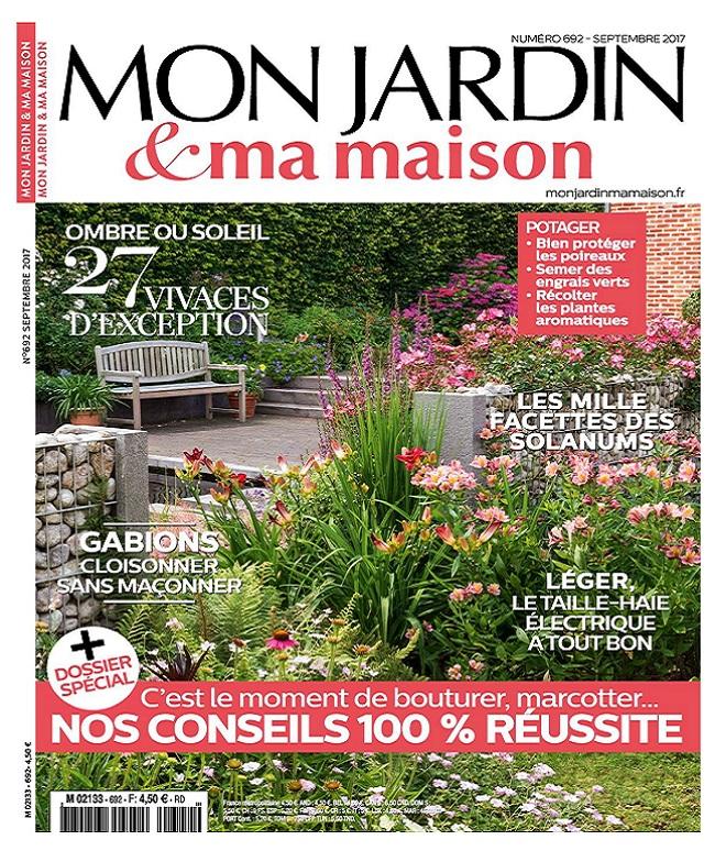 Mon Jardin et Ma Maison N°692 - Septembre 2017