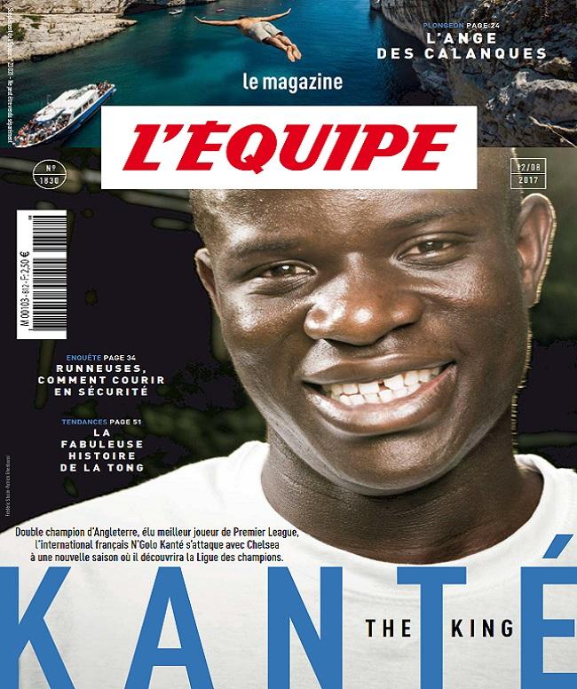 télécharger L'Equipe Magazine N°1830 Du 12 Août 2017