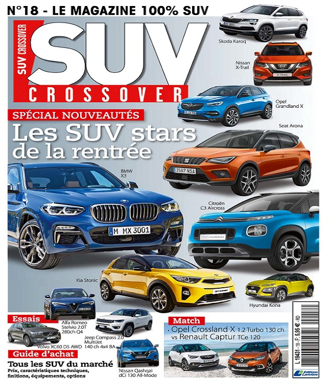 télécharger Suv Crossover N°18 - Septembre-Octobre 2017