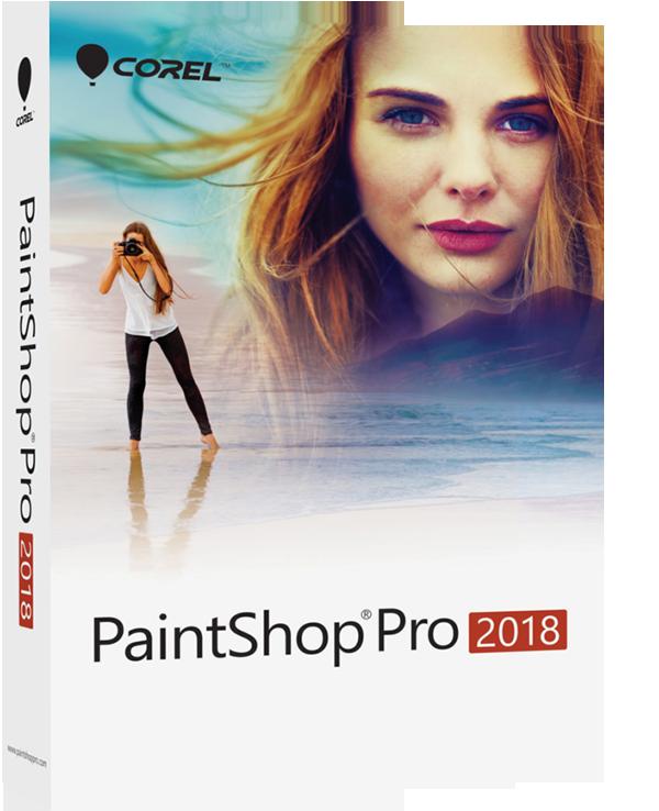 Poster for Corel PaintShop Pro 2018
