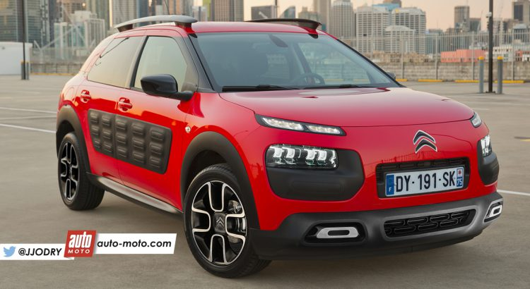 un facelift devrait intervenir sur le citro n c4 cactus en 2018 citroen c4 cactus forums. Black Bedroom Furniture Sets. Home Design Ideas