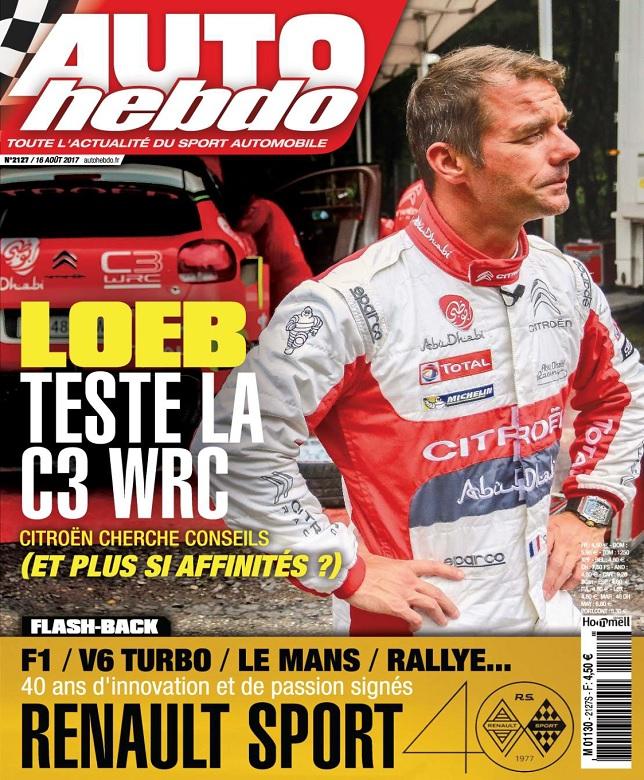 télécharger Auto Hebdo N°2127 Du 16 Août 2017
