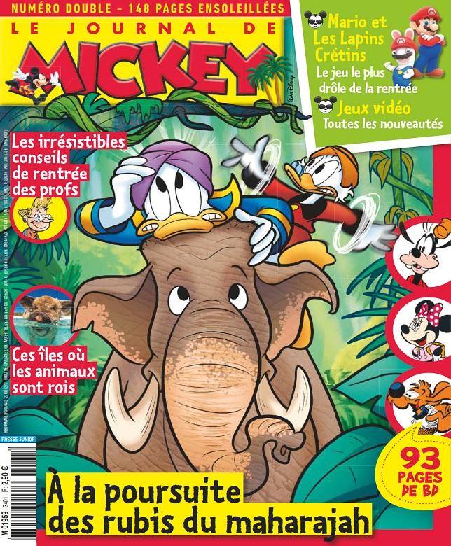 télécharger Le Journal De Mickey N°3401 Du 23 Août 2017
