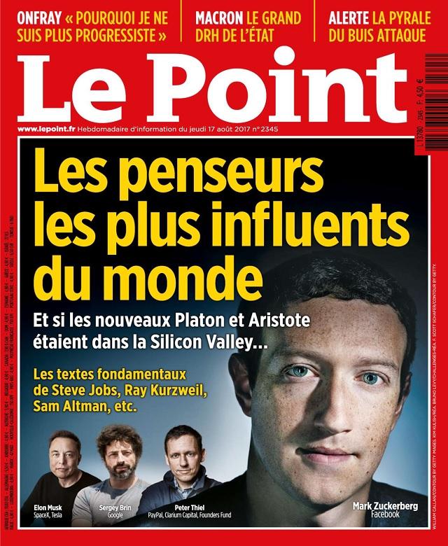 Le Point N°2345 Du 17 Août 2017